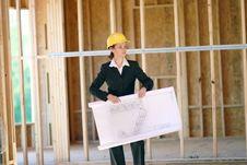 Free Female Architect Stock Images - 4969094