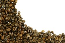 Free Abstract Coffee Beans Frame Royalty Free Stock Photography - 4969127