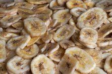 Free Dried Bananas Royalty Free Stock Photography - 4969577