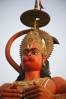 Free Hanuman Statue Stock Images - 4969954