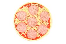 Free Uncooked, Frozen Pizza Royalty Free Stock Image - 4969966