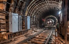 Free Old Tunnel Subway In Moscow Stock Image - 49606131
