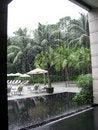 Free Singapore. Through Waterfall Stock Images - 4974834