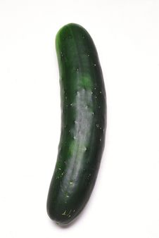 Free Green Cucumber Royalty Free Stock Photos - 4970868