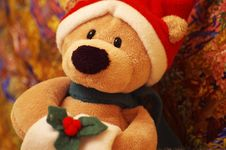 Free Christmas Bear Royalty Free Stock Images - 4971159