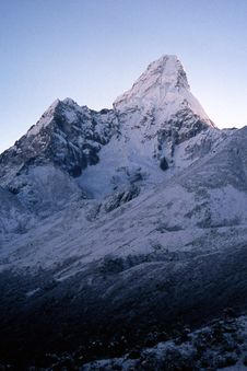 Free Ama Dablam - Himalayas. Stock Photos - 4971293