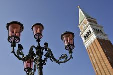 Free Ornate Lamp, Venice Stock Photography - 4971752