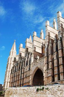 Free Palma De Mallorca Cathedral Stock Image - 4971761