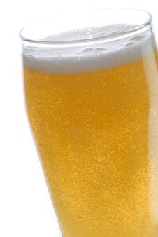Free Beer With Bubbles Royalty Free Stock Photography - 4972137