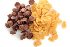 Free Cereal Corn And Choco Flakes Stock Photos - 4972333