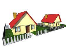Free Isolated House Stock Image - 4972661