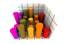 Free 3d Statistics Stock Images - 4972714