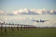 Free Landing Approach Stock Photography - 4972812