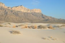 Free Gypsum Sand Dunes Stock Photo - 4972960