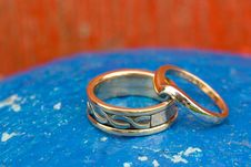 Free Wedding Rings Royalty Free Stock Photography - 4973327