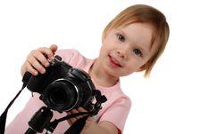 Free Small Photographer Stock Image - 4973401