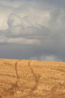 Prairie Highway Stock Photography