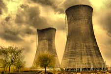 Free Chimneys Of Power Station Stock Photo - 4973450