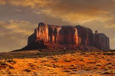 Free Monument Valley Royalty Free Stock Photography - 4973847