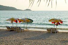 Free Beach Umbrellas Stock Images - 4974014