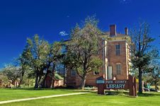 Park County Library Building In Fairplay Colorado Royalty Free Stock Photo