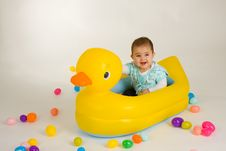 Free Easter Baby Royalty Free Stock Photo - 4974735