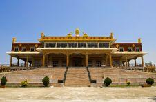 Free Gaden Jangtse Thoesam Norling Monastery Stock Photos - 4975003