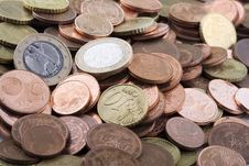 Free Euro Coins Stock Photography - 4975182