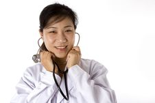 Free Female Doctor Portrait Stock Photo - 4975270