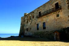 Free Ancient Sea Castle Wall, Italy Stock Photo - 4975620