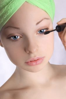 Free Make-up Girl 1 Stock Images - 4977394