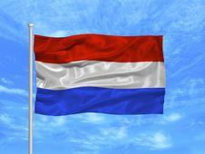 Free Netherlands Flag 1 Royalty Free Stock Image - 4978366