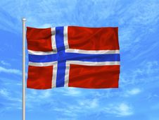 Free Norway Flag 1 Royalty Free Stock Photography - 4978367