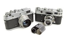 Free Vintage Cameras Royalty Free Stock Images - 4978669