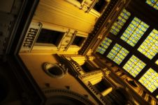 Free Neoclassical Building Interior Stock Photography - 4978722
