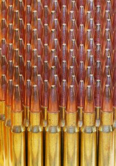 Free 30-06 Bullets Abstract Background Image Stock Image - 4979021