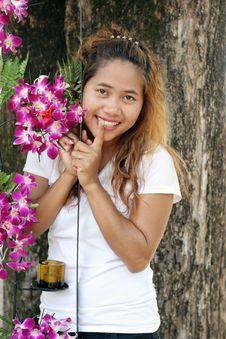 Free Cute Thai Woman Stock Photography - 4979082
