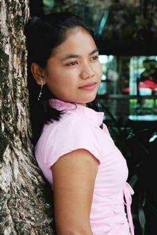 Free Thai Girl Stock Image - 4979441