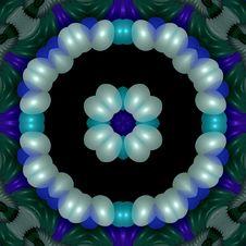 Free Carved Jade And Shell Mandala Royalty Free Stock Image - 4979706