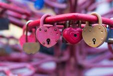 Free Old Padlocks On Blurred Background Stock Image - 49716351