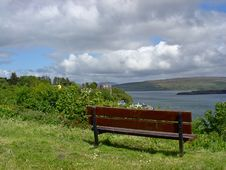 Free Lonesome Bench Royalty Free Stock Image - 4980366