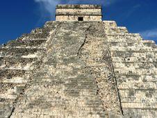 Free Pyramid Of Chichen Itza Stock Photography - 4980802