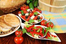 Free Greek Salad Stock Photo - 4980900