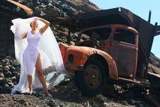 Free Bride, Car  Or... Stock Image - 4981841