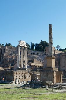 Free Roman Forum Stock Photo - 4982380