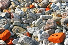 Free Heap Of Different Stones. Royalty Free Stock Photo - 4982485