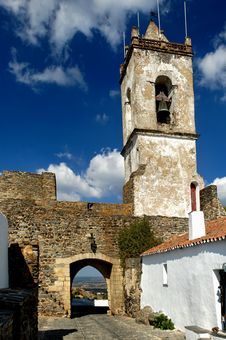 Free Portugal, Alentejo:village Church Royalty Free Stock Photography - 4982777