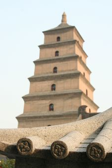 Free Chinese Pagoda Royalty Free Stock Photo - 4983015