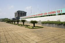 Free Ho Chi Minh - Mausoleum Hanoi, Vietnam Royalty Free Stock Photography - 4983607
