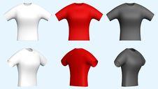 Free Women T-shirts Stock Photography - 4983742